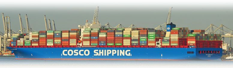 Containerschiff Cosco Shipping Alps