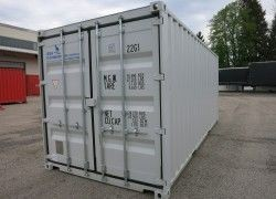 SONDERPREIS 20ft Seecontainer, lichtgrau, first trip